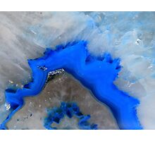 See the blue?? Photographic Print