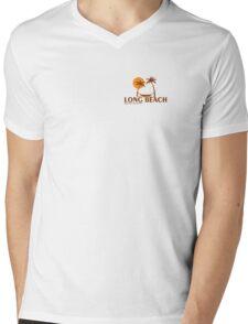 Long Island - Mississippi. Mens V-Neck T-Shirt
