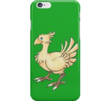 Final Fantasy Chocobo in Pastel & Colour Pencil iPhone Case/Skin