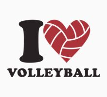 I love volleyball by dreamtee