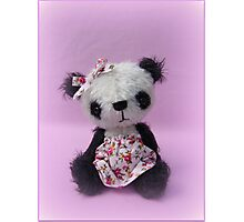 Soo - Handmade bears from Teddy Bear Orphans Photographic Print