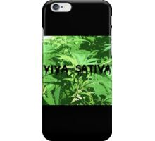 viva sativa iPhone Case/Skin