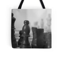 Chess Board on Mirror Tote Bag