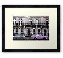 Barbie Pink in London Framed Print