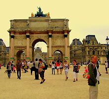 La Place de la Concorde dans la Jardins  deTuilirie by Rusty  Gladdish