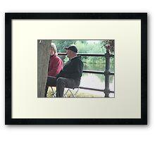 Upton at ease Framed Print