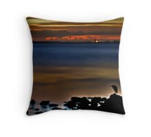 Sharing The Silence Throw Pillow