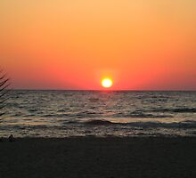 Glorious sea sunset by Maria1606