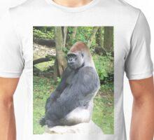 Male Silverback Lowland Gorilla at Kansas City Zoo 2 Unisex T-Shirt