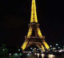 Eifel Tower by Natasha D