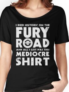 Mediocre Shirt Women's Relaxed Fit T-Shirt