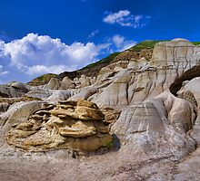In the Valley of Hoodoos by Myron Watamaniuk