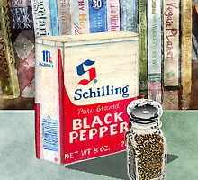 Black Pepper by arline wagner