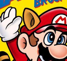 SUPER MARIO NES Box cover Sticker