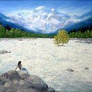 WHITE WATER, MANALI by PRIYADARSHI GAUTAM