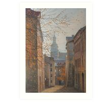Place In Old City Art Print