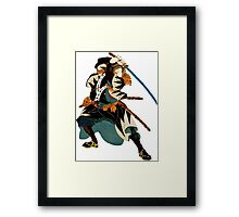...action Framed Print