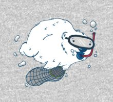 Bear diver Baby Tee