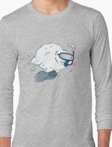 Bear diver Long Sleeve T-Shirt