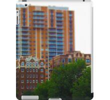 Tall Buildings on Brush Creek Tilt Shift iPad Case/Skin