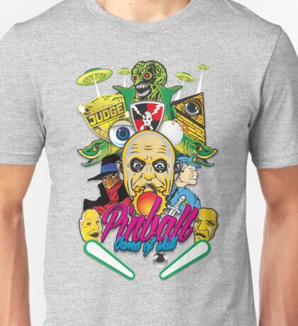 Pinball, Game of skill Unisex T-Shirt