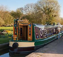 "Foxton Lock  ""The Otter"" by Elaine123"