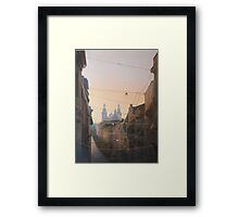 Networks of Fates Framed Print
