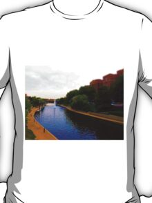 Brush Creek, Kansas City Tilt Shift T-Shirt