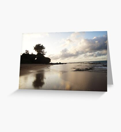 Sand On Fire Greeting Card
