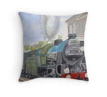 Sir Lamiel  Dorset Coast Express Throw Pillow