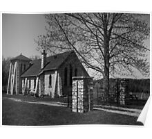 St. Margaret's Church 1932 in rural Wiarton, Ontario Poster