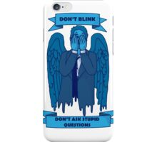Weeping Angel of The Lord iPhone Case/Skin