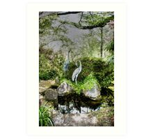 At The Pond - Mount Wilson, NSW, Australia Art Print