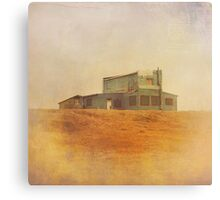 Once Upon a Time a House Canvas Print