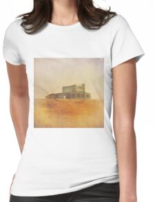 Once Upon a Time a House Womens Fitted T-Shirt