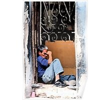 Down & out in Havana, Cuba Poster