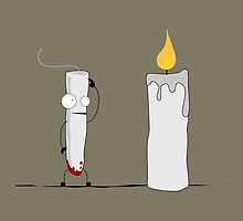 Candle Envy by OrriArt