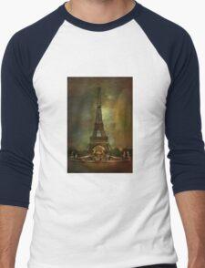 City of Paris from 1900 Men's Baseball ¾ T-Shirt