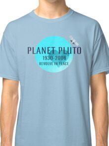 Revolve in peace pluto Classic T-Shirt
