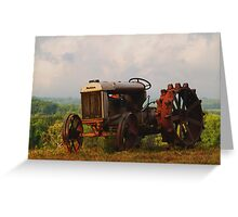 Fordson Tractor - Pittsylvania County, Virginia Greeting Card