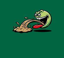 Barfing Green Smiley Emoticon Meme Unisex T-Shirt
