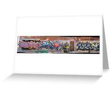 melbourne graffiti 0027a Greeting Card