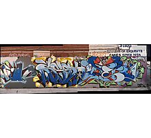 melbourne graffiti 0027b Photographic Print
