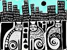 City cats paper 53  by Karin Zeller