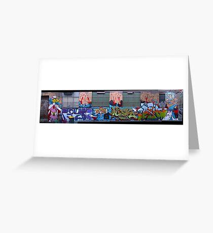 melbourne graffiti 108 Greeting Card