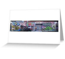 melbourne graffiti 116 Greeting Card