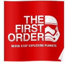 Never Stop Exploding Planets Poster