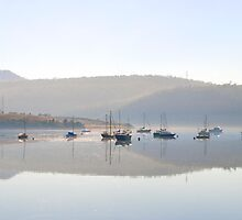 New Town Bay- Hobart by Anthony Davey