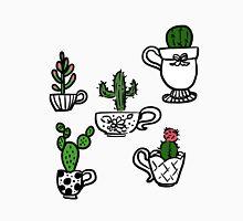 Cactus in Teacups Unisex T-Shirt