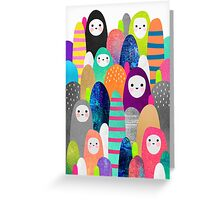 Pebble Spirits Greeting Card